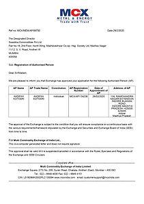 AADESH KOTHARI MCX CERTIFICATE_page-0001