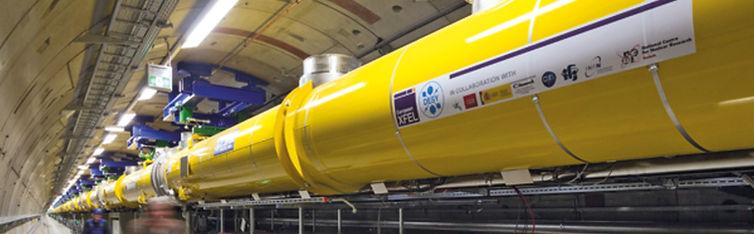 European XFEL, Röntgenlaser, Beschleuniger, Elektronenbeschleuniger, Linearbeschleuniger, Helmholtz Gemeinschaft, Teilefertigung für Ultrahochvakuumanwendung