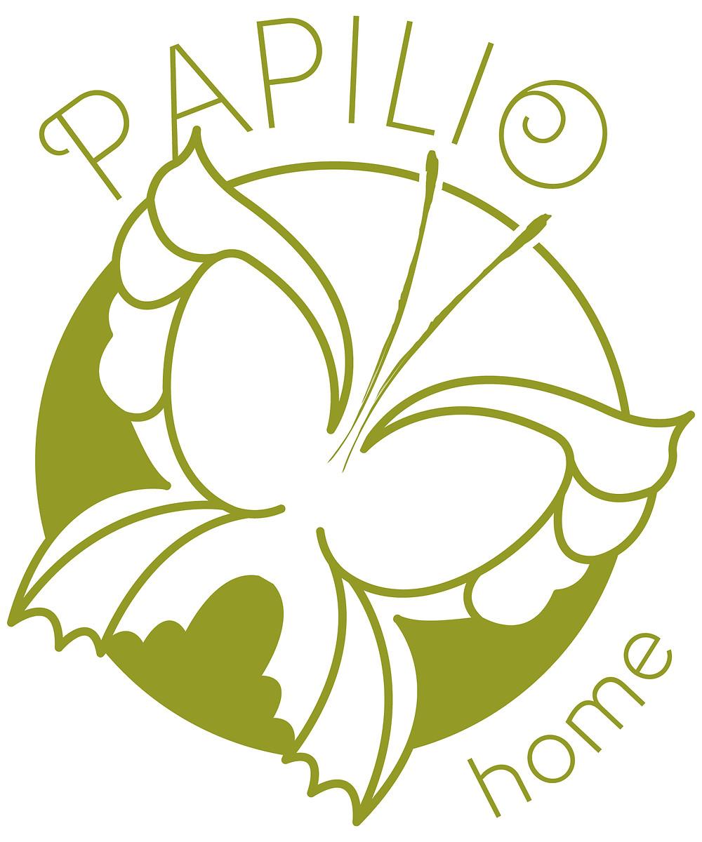 Papilio home logo