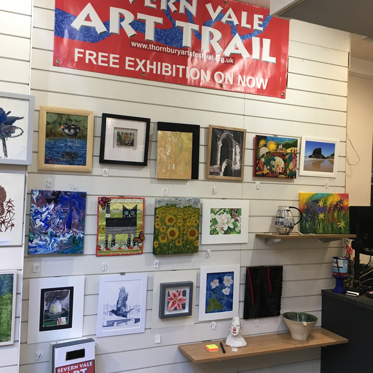 Wall of Art Trail Exhibition