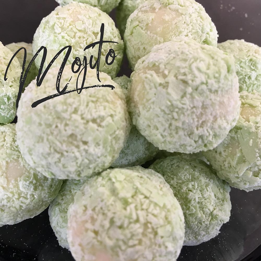 Mojito truffles