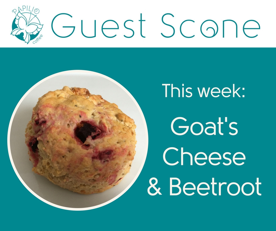 Goat's Cheese & Beetroot Scone