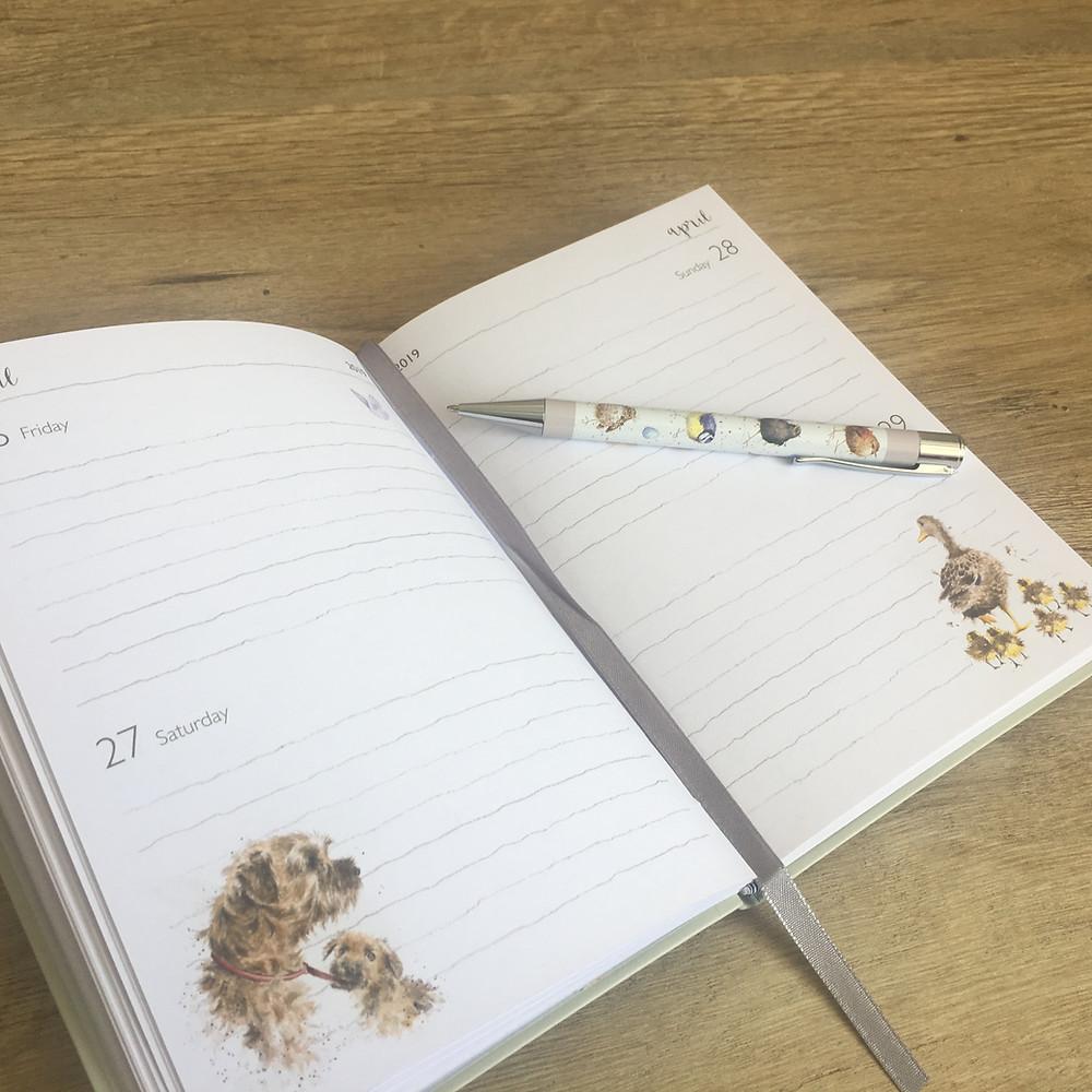 Wrendale Flexi Diary