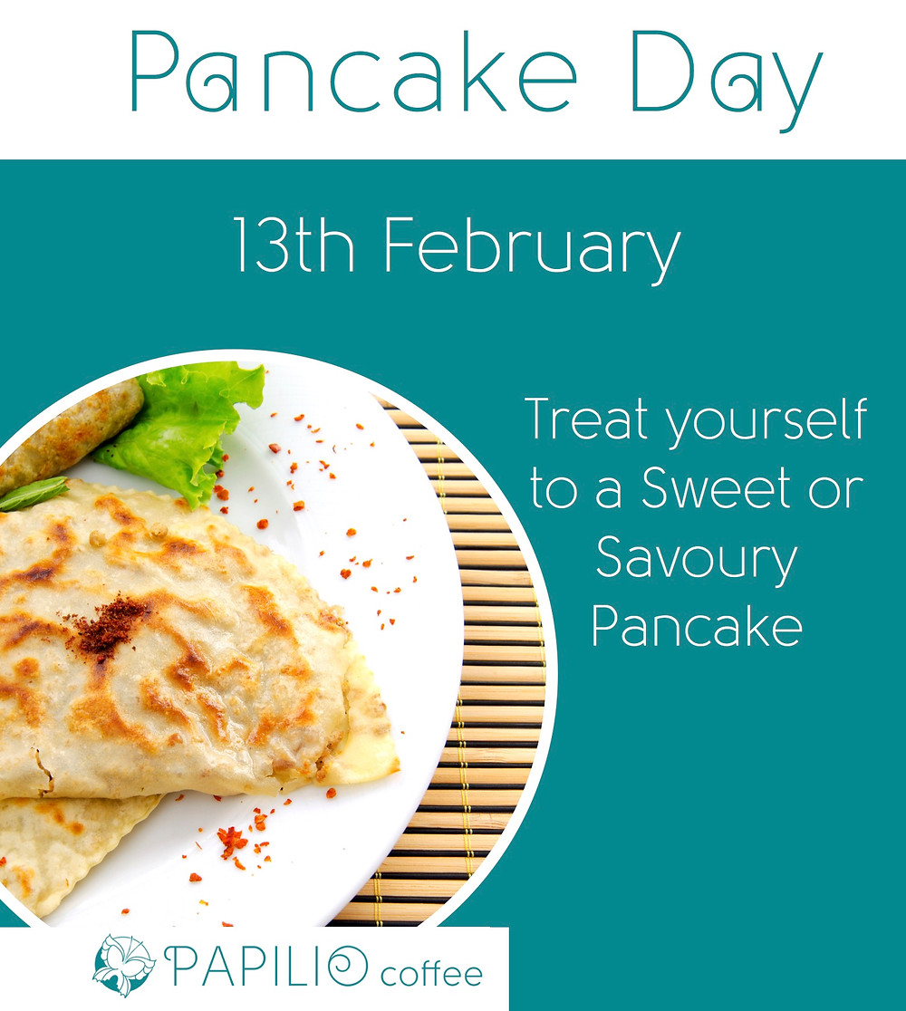Pancake Day 13th February