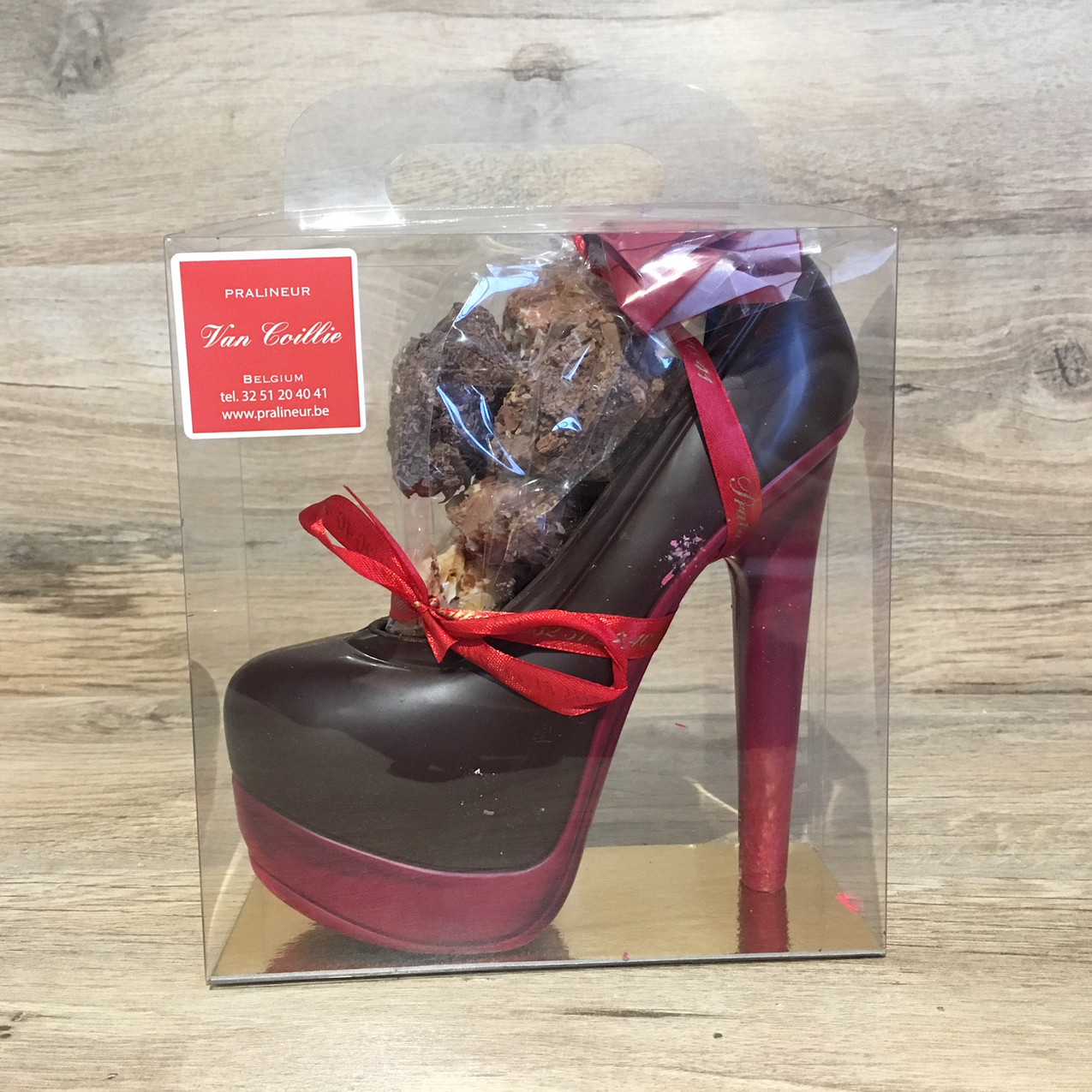 Chocolate Platform Shoe