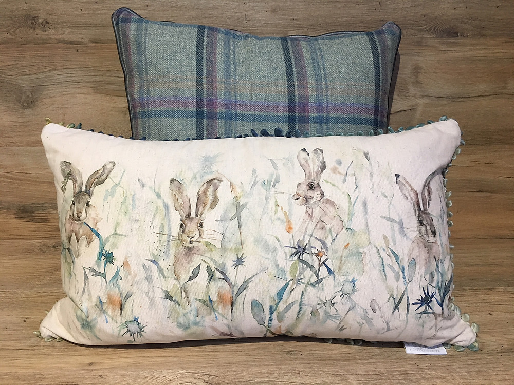 Bunnies Cushion
