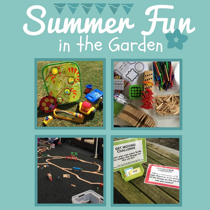Summer Fun in the Garden : Enchanted Forest