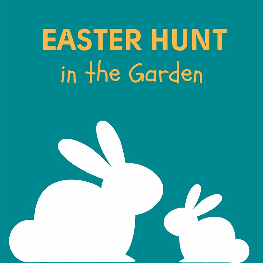 Easter Hunt in the Garden