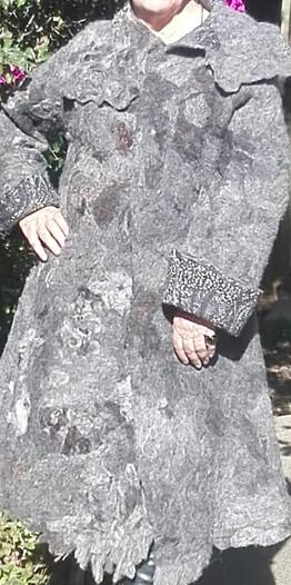 Abrigo de Lana de Alpaca
