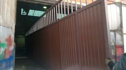 Готовая створка шириной 11 метров