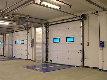 промышленные ворота, подъемные ворота, секционные ворота