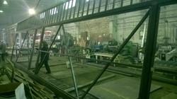 Производство ворот в цехе