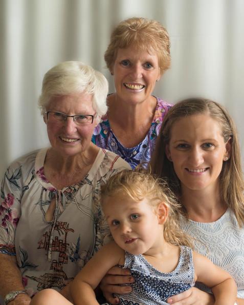 4 generations of beautiful women