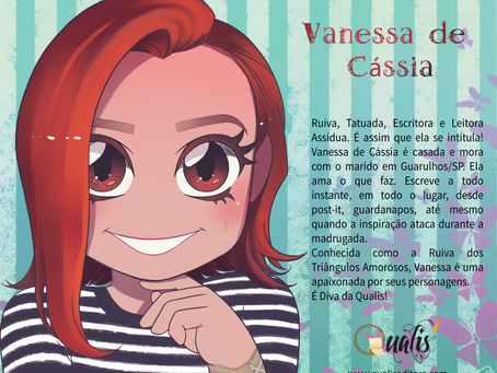 Qualis Editora divulga Avatar da autora Vanessa de Cássia