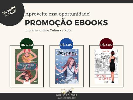 Aproveite nossa promoção de e-books nas livrarias online da Cultura e Kobo