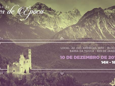 10/12 - 1º Convenção de Romances de Época do Brasil