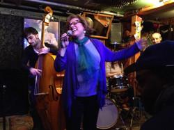 Performing at Smalls, NYC