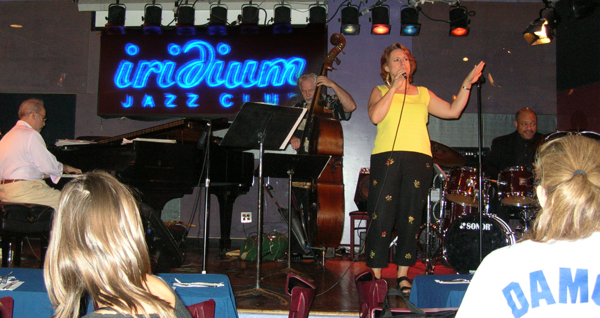 At The Iridium, Times Square, 2006