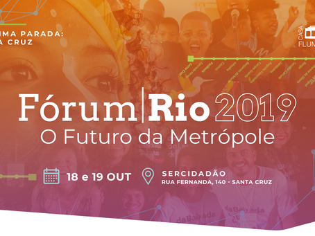 SerCidadão vai sediar o Fórum Rio 2019