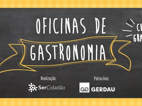 Oportunidade: SerCidadão oferece novas vagas para Oficinas de Geração de Renda em Gastronomia