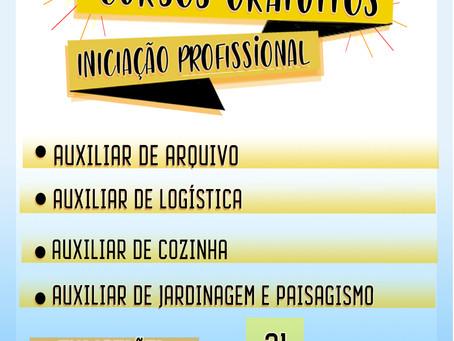SerCidadão abre as inscrições para os cursos de iniciação profissional do primeiro semestre de 2019