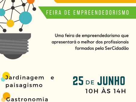 Alunos da SerCidadão realizam o evento Experiência - Feira de Empreendedorismo