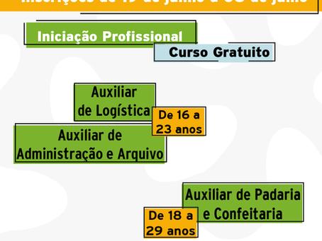 Inscrições abertas para os cursos de iniciação profissional da SerCidadão