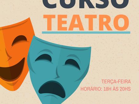 Curso de Teatro gratuito na SerCidadão