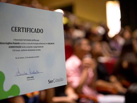 SerCidadão realiza formatura dos cursos do segundo semestre de 2017