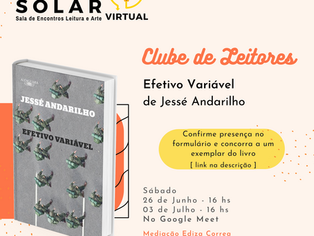 Você gosta de literatura? Esta é a sua oportunidade para se jogar no Clube de Leitura do SOLAR