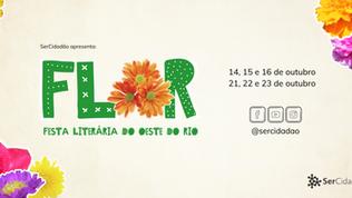 Inspirada na primavera nasce a FLOR - Festa Literária do Oeste do Rio