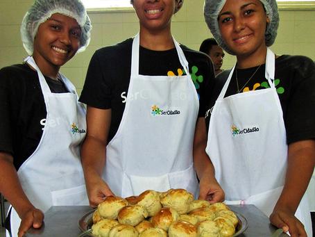 SerCidadão oferece Oficinas de Geração de Renda em Gastronomia com apoio da Gerdau