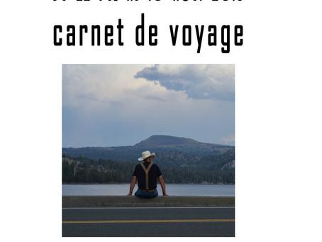 """expo Loubna Cadoret """"carnet de voyage"""""""