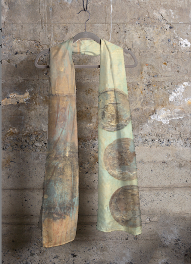 Cashmere Currency Modal Scarf