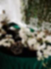 Организация свадьбы в изумрудном цвете фото