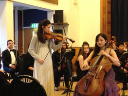 Brahms Double with Hayoung Choi at the Purcell School, 2014