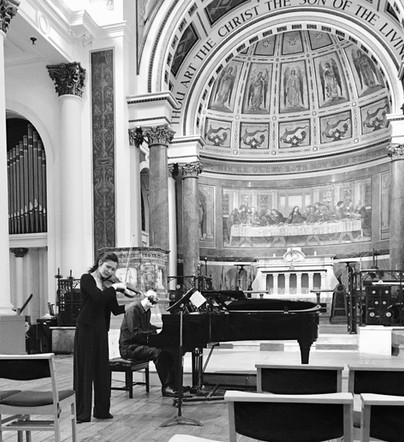 Recital at St Peter's, Notting Hill 2017