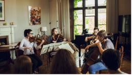 Schubert G Major Quartet at Musicworks, 2016