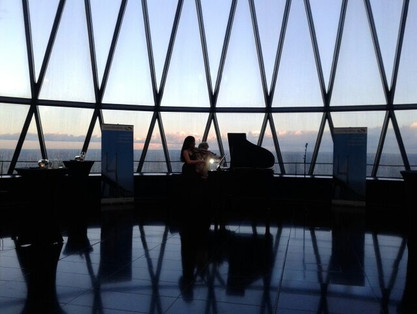 Concert at the Gherkin