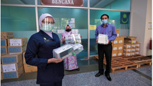 Kumpulan BDB sumbang peralatan perubatan bernilai RM81,000 kepada HSB | BERNAMA | 2 JUN 2021