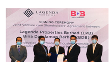 Lagenda Industries teamed up with Kedah Construction to develop 665 million affordable homes