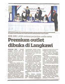 Premium outlet dibuka di Langkawi   KOSMO!   22/9/2021