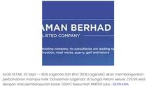 BDB akan bangunkan perbandaran mampu milik 'Darulaman Lagenda' | MALAYSIA SEJAHTERA | 3/9/2021