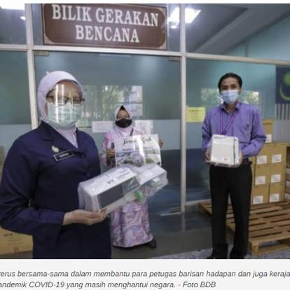Kumpulan BDB sumbang RM81,000 kepada Hospital Sultanah Bahiyah | ASTRO AWANI | 2 JUN 2021