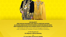 Dirgahayu Tuanku | NEW STRAITS TIMES | 7 JUNE 2021
