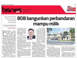 BDB bangunkan perbandaran mampu milik   SINAR HARIAN   4/10/2021
