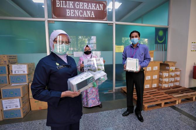 KUMPULAN BINA DARULAMAN BERHAD SUMBANG RM81 RIBU KEPADA HOSPITAL SULTANAH BAHIYAH
