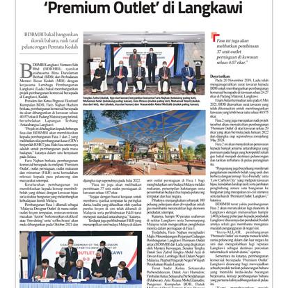 'Premium Outlet' di Langkawi   SINAR HARIAN   23 SEPTEMBER 2021
