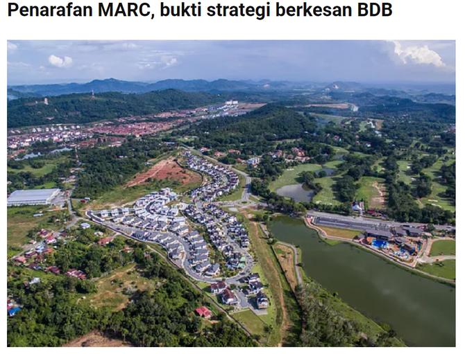 Penarafan MARC, bukti strategi berkesan BDB   DAGANG NEWS   30 OGOS 2021
