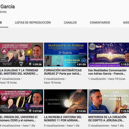 Formaciones, directos, entrevistas y mucho más en mi nuevo canal de Youtube